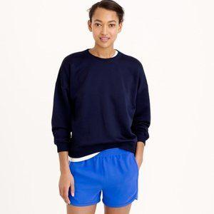 J.Crew Draped Terry Thick Pullover Sweatshirt